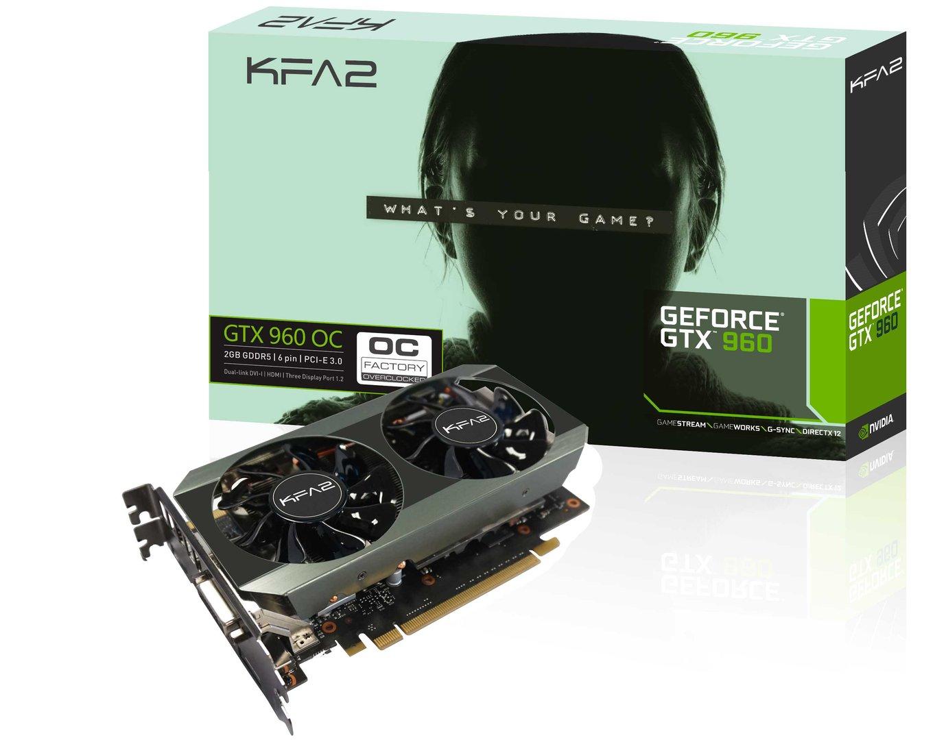 KFA² GTX 960 OC 2 GB