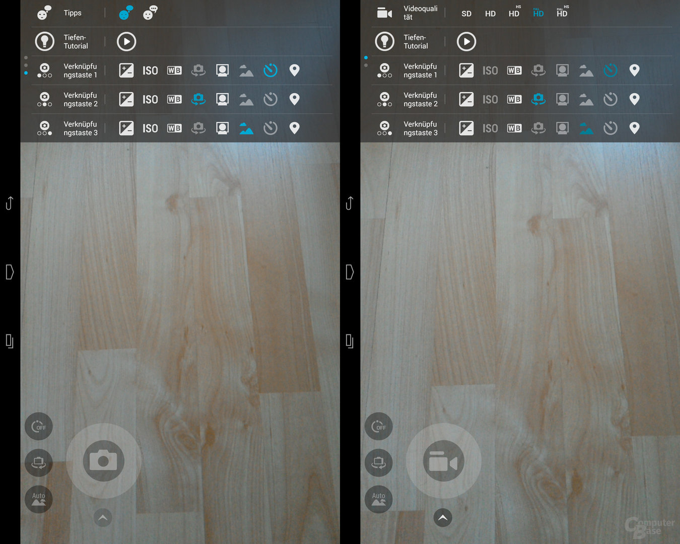 Dell Venue 8 Kamera-Applikation
