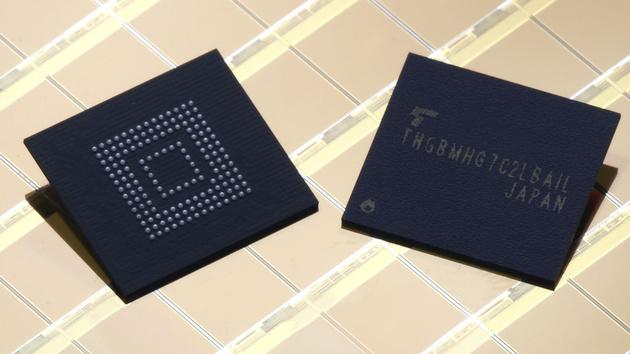 eMMC 5.1: Toshiba liefert schnelleren Smartphone-Speicher aus