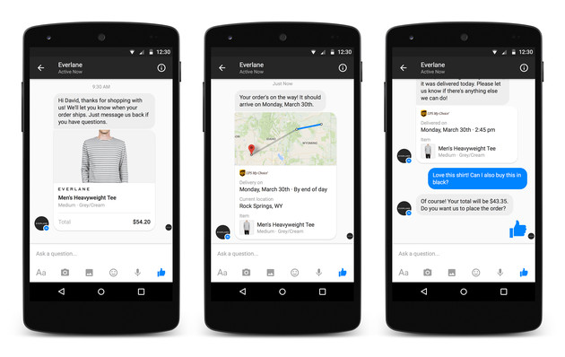 Facebook Messenger Plattform