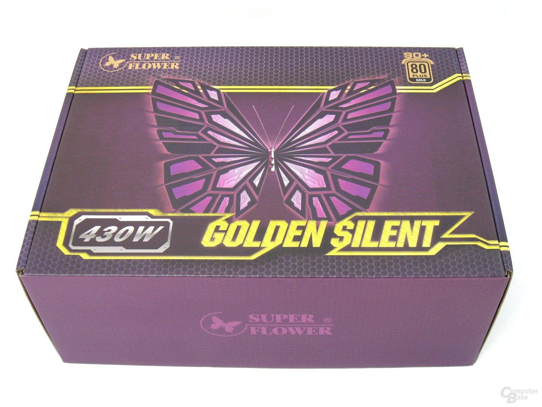 Super Flower Golden Silent 430W – Verpackung