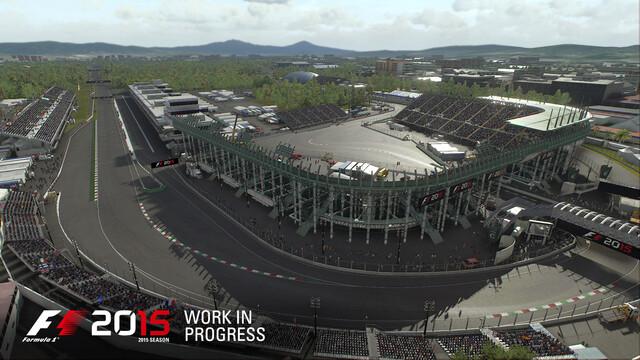 F1 2015 – Autódromo Hermanos Rodríguez, Mexico-Stadt