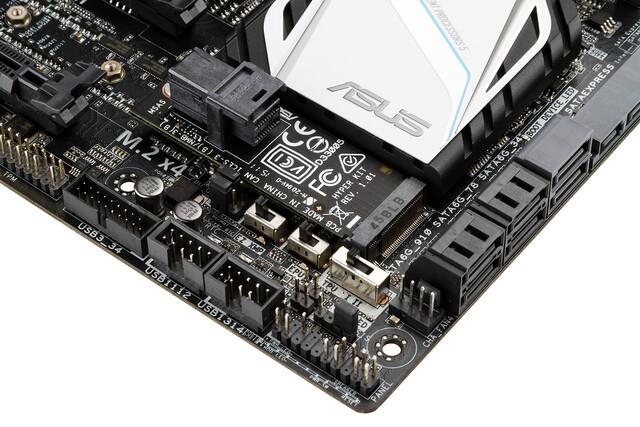 M.2-Adapter für Intels SSD 750 mit 2,5 Zoll