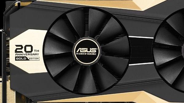 Asus: Schnellste GeForce GTX 980 in Gold zum 20. Jubiläum
