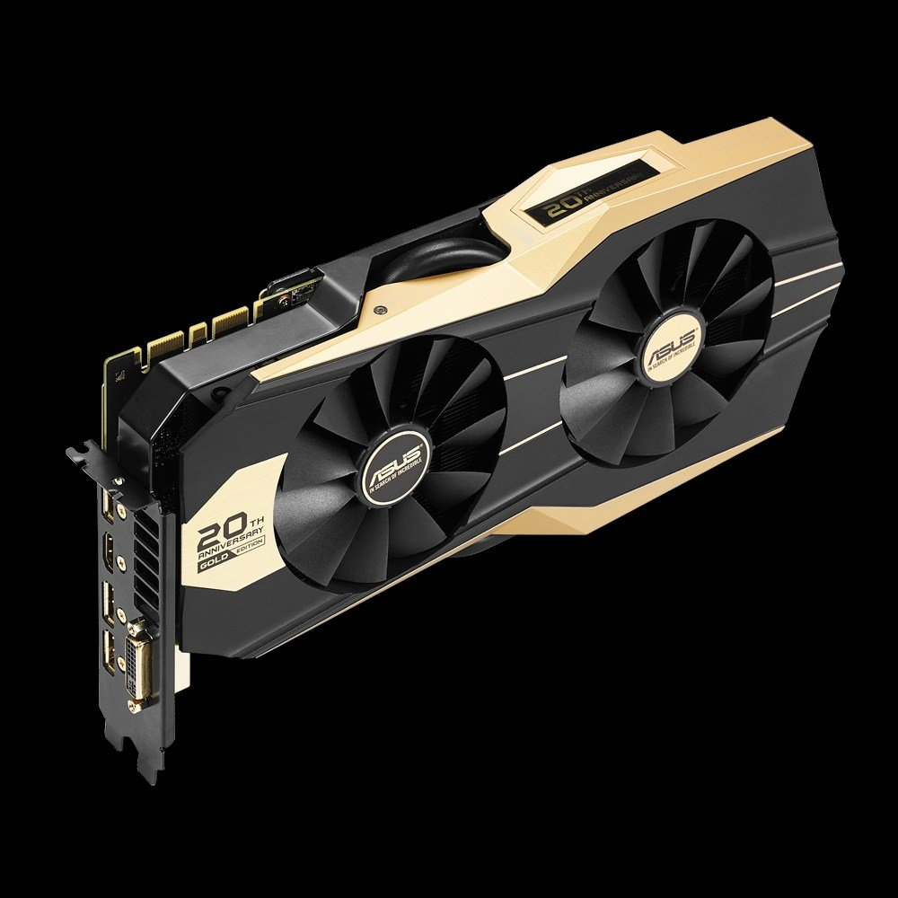 Asus GeForce GTX 980 20th Anniversary Gold Edition