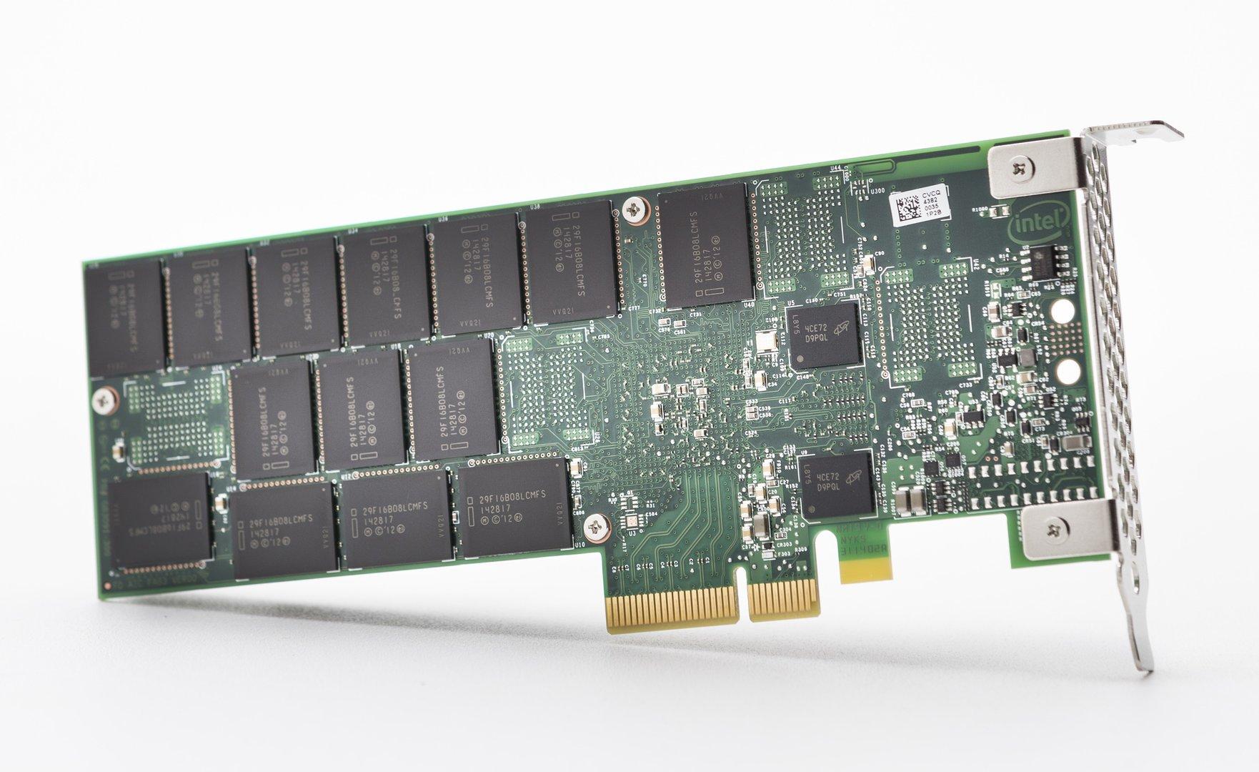 Intel SSD 750 als PCIe-Karte