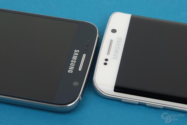 Das interne Kopf-an-Kopf-Rennen gewinnt knapp das Galaxy S6