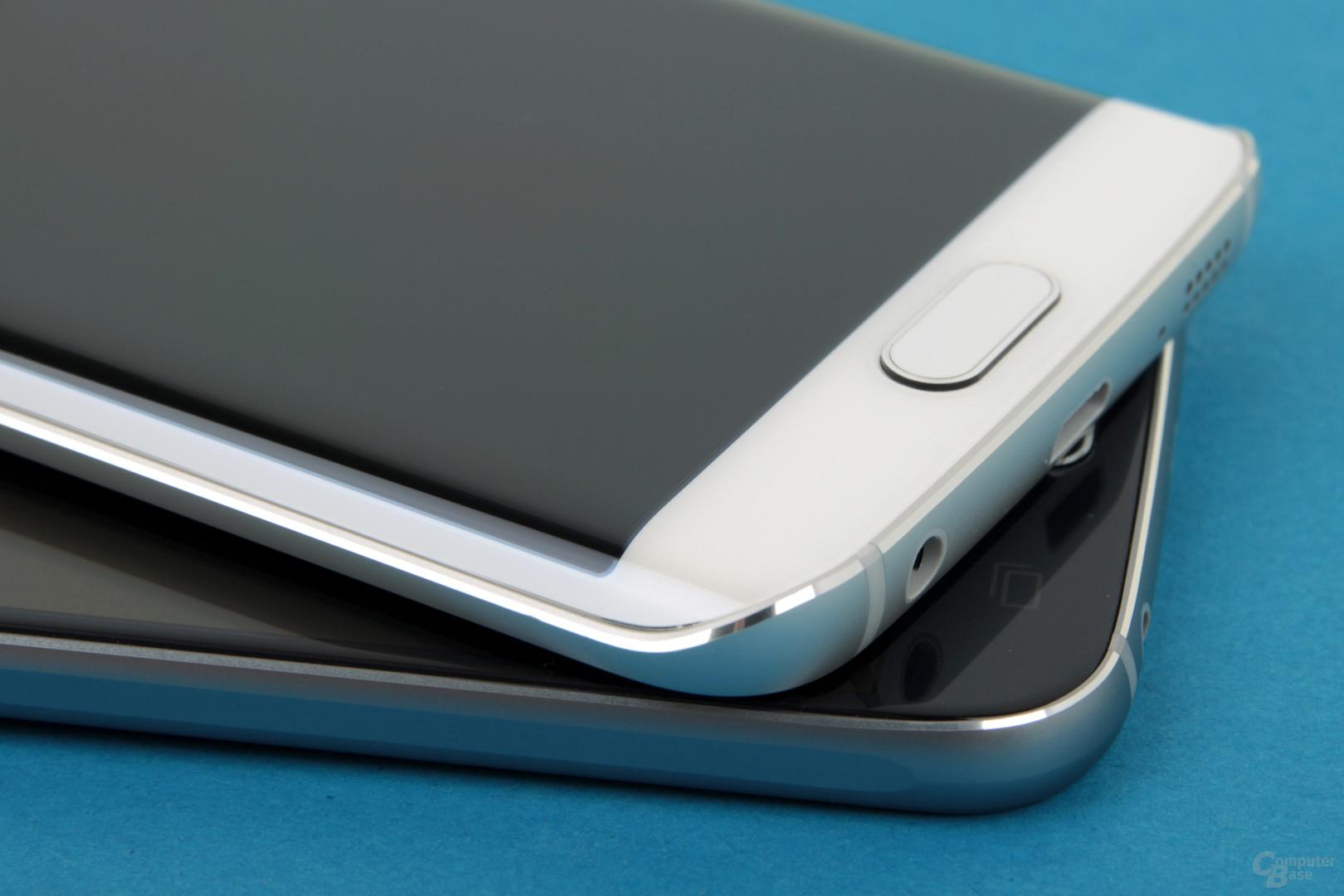 Galaxy S6 und Galaxy S6 edge sind sehr gut verarbeitet