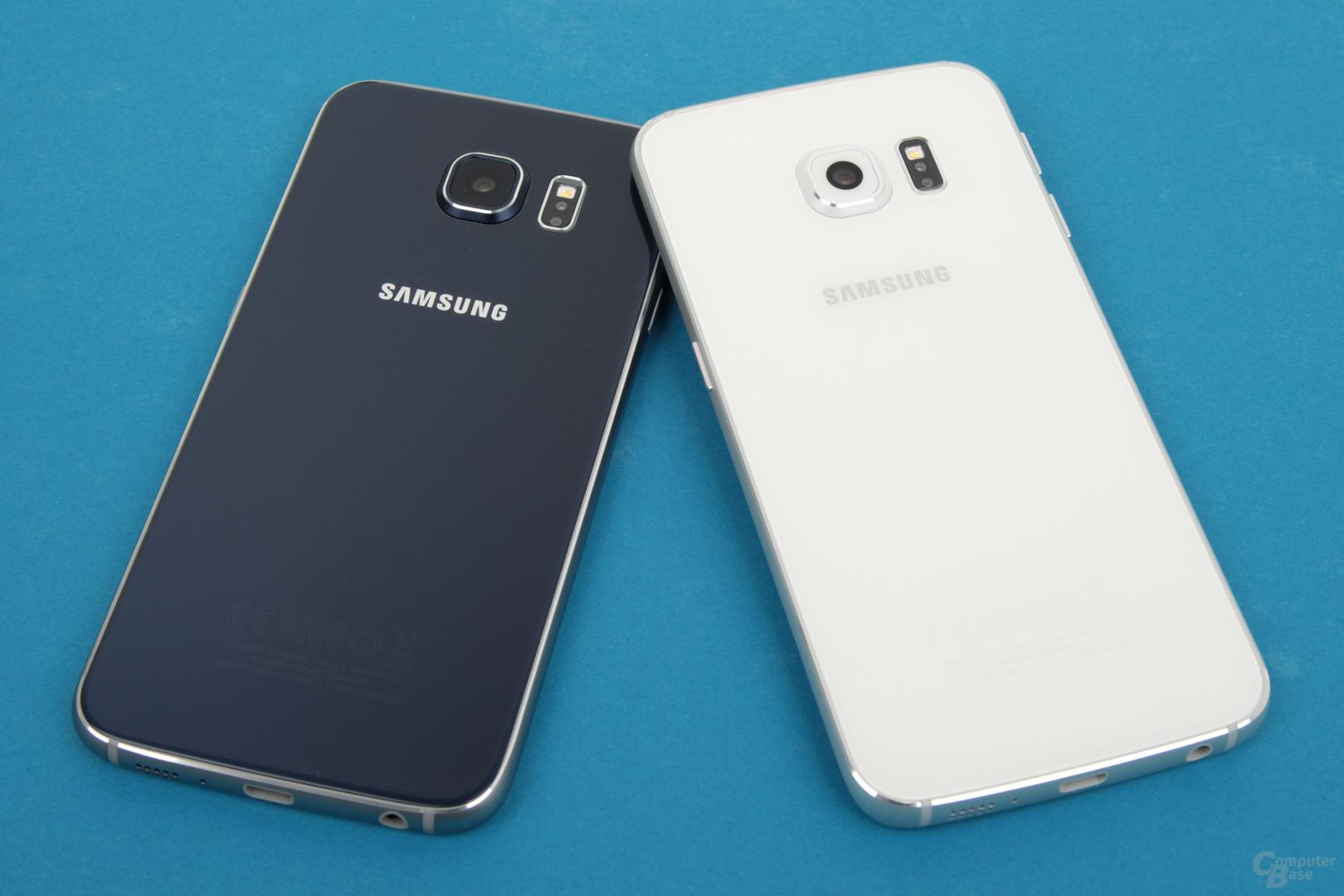 Gleiche Rückseite bei Galaxy S6 und Galaxy S6 edge