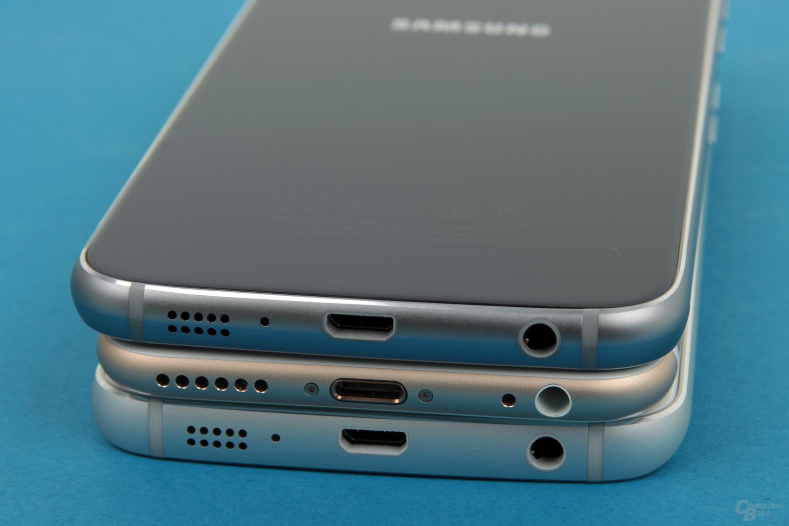 Galaxy S6 – iPhone 6 – Galaxy S6 edge