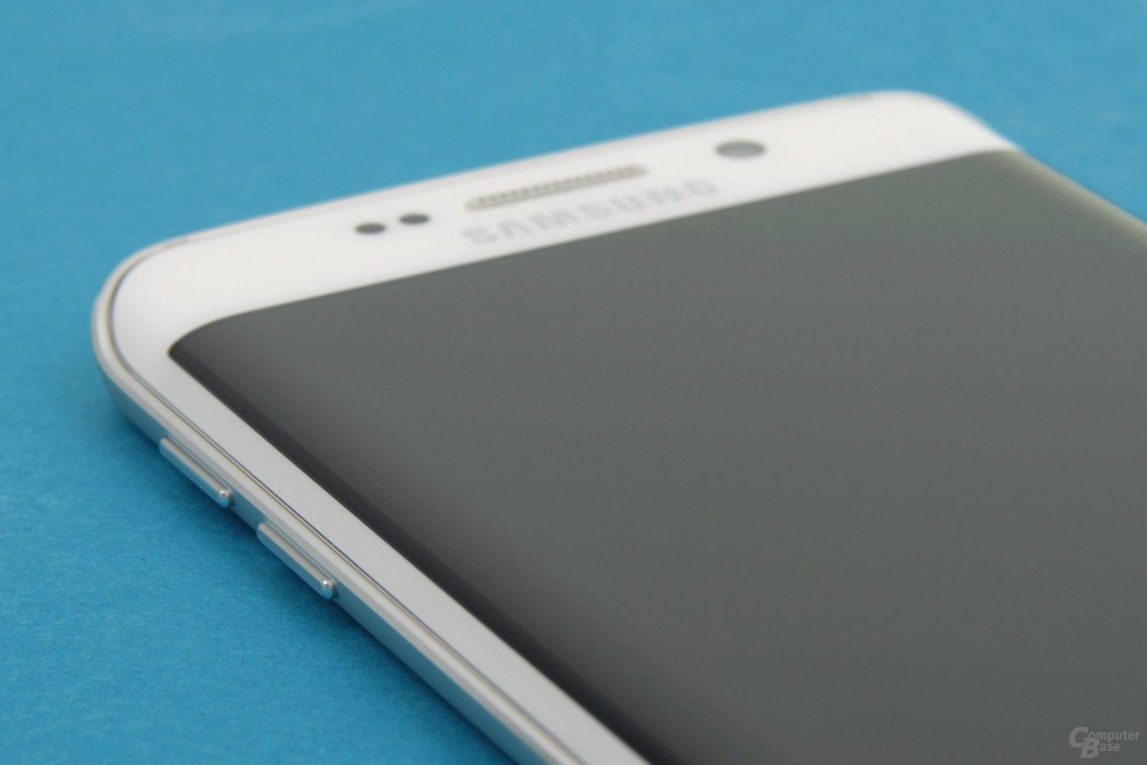 Sichtbar gebogenes Display beim Galaxy S6 edge