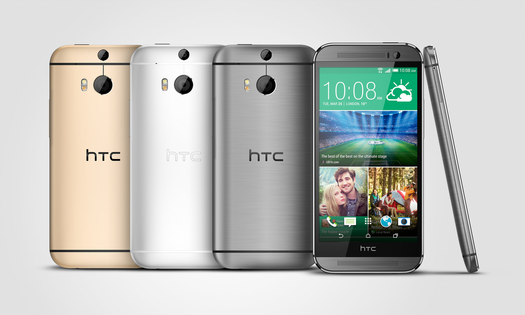 HTC One M8s Farbauswahl