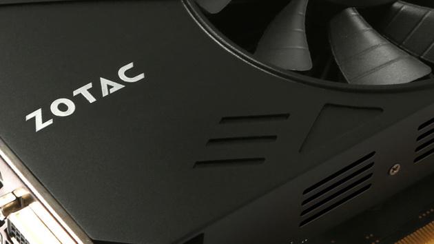 GeForce GTX 960: Zotacs 17-Zentimeter-Karte schaltet Lüfter ab
