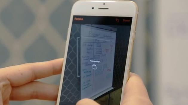 Office Lens: Microsofts Scanner-App kommt für iPhone und Android