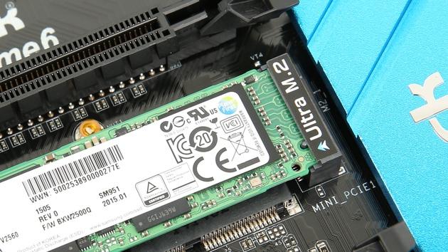 Samsung SM951 im Test: Die schnellste SSD für den M.2-Slot