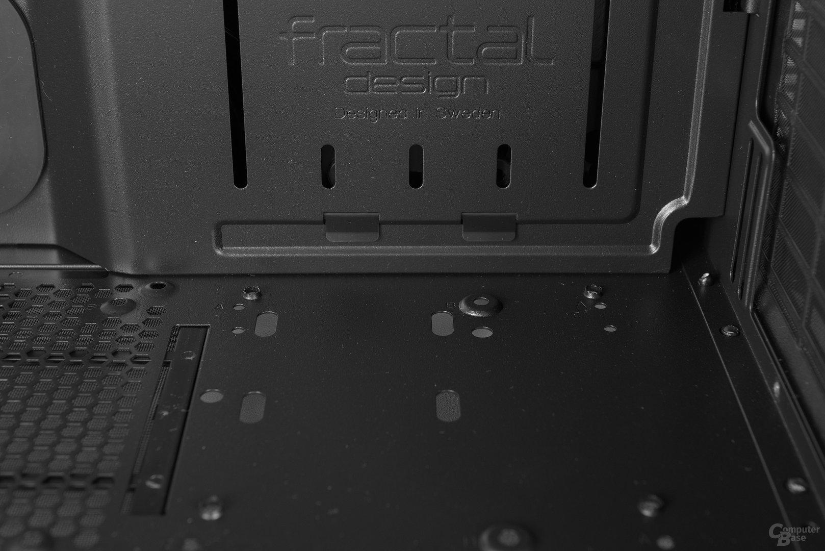 Fractal Design Define S – Montageplatz für Wasserpumpe