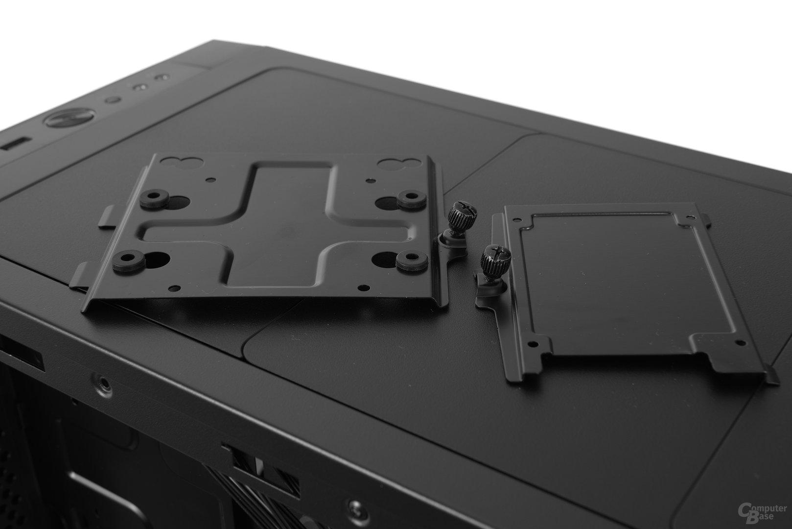 Fractal Design Define S – Festplattenbrackets im Detail