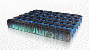 Supercomputer Aurora