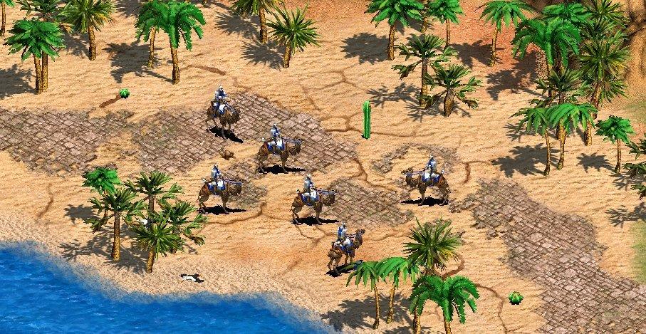 Bogenschützen auf Kamelen sind eine der neuen Einheiten