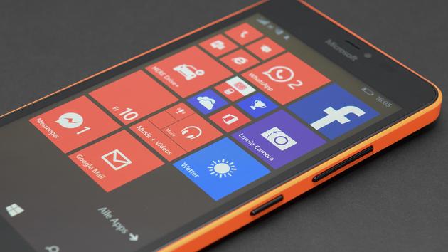 microsoft lumia 640 xl im test windows phone auf 5 7 zoll f r unter 200 euro computerbase. Black Bedroom Furniture Sets. Home Design Ideas