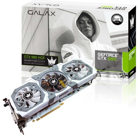 Galax GTX 980 HOF Duck Edition