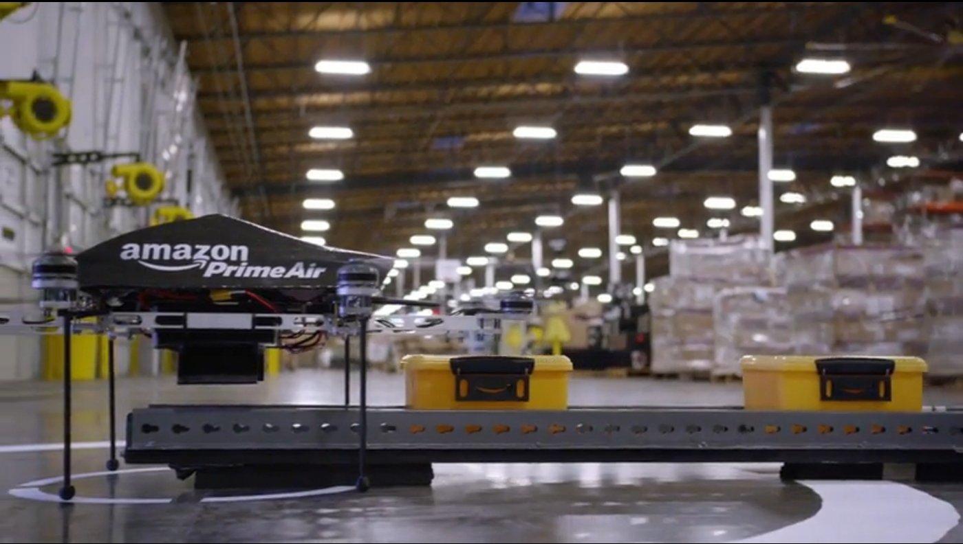 Amazon Prime Air Testdrohne