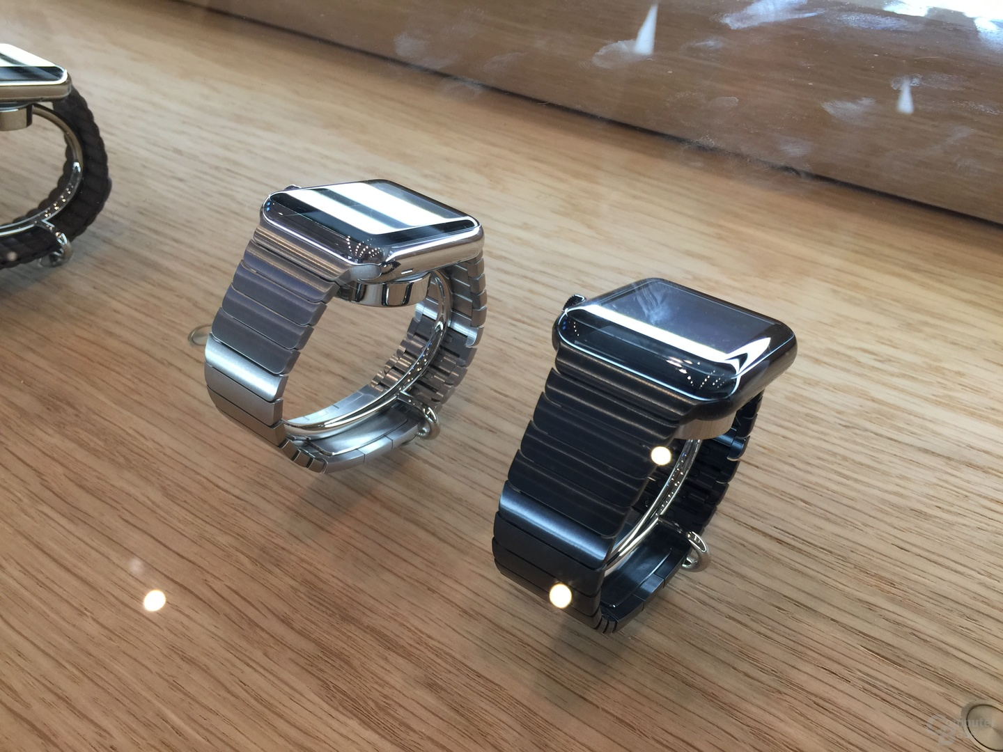 Apple Watch mit Gliederarmband