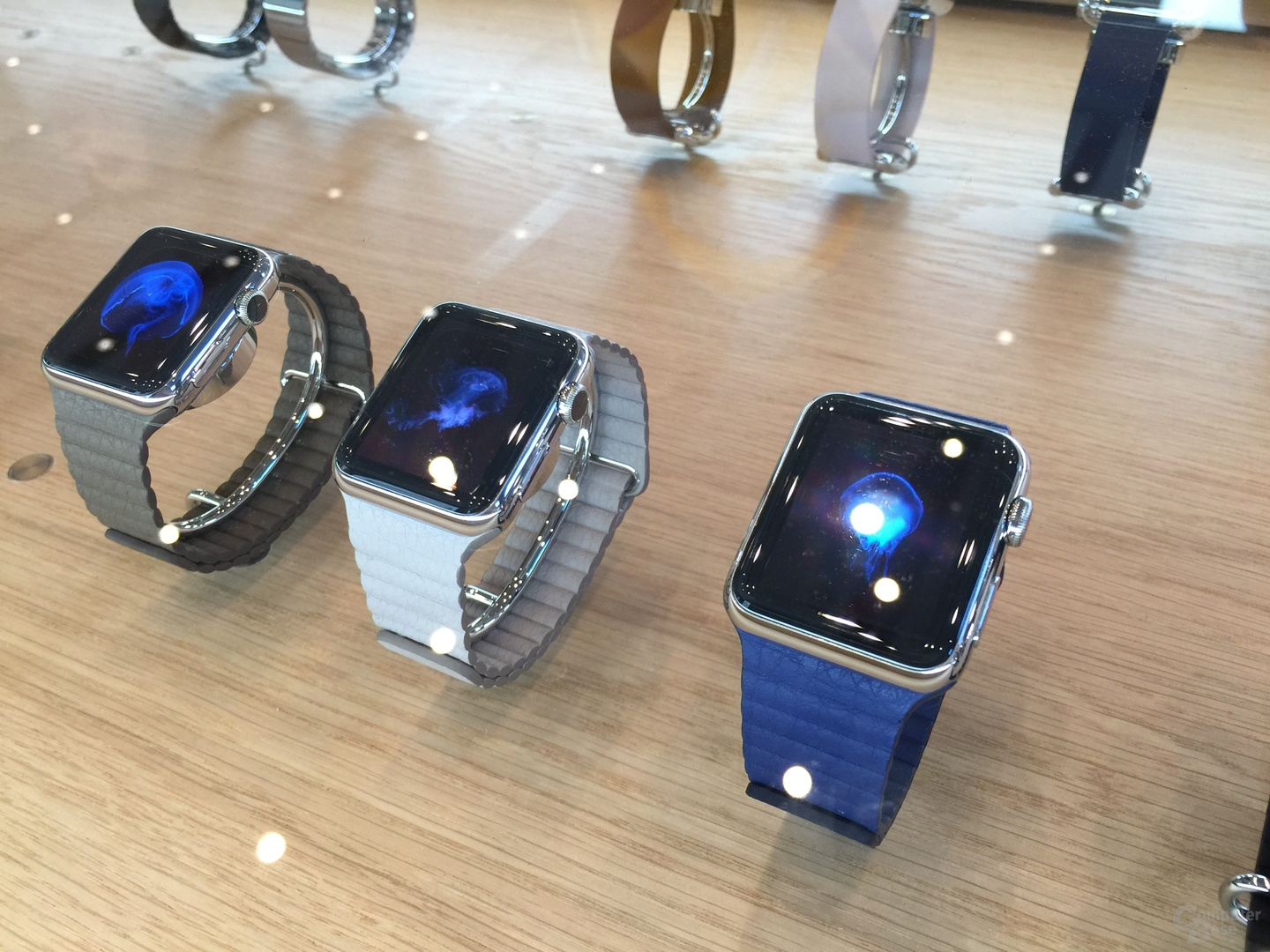 Apple Watch mit Loop-Armband