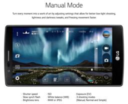 LG G4 – Manueller Kameramodus