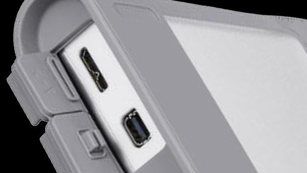 Externe Festplatte: Rugged-HDDs mit USB 3.0 und Thunderbolt von Sony