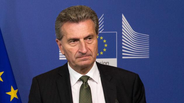 EU-Verfahren: Oettinger fordert von Google Einhaltung europäischer Regeln