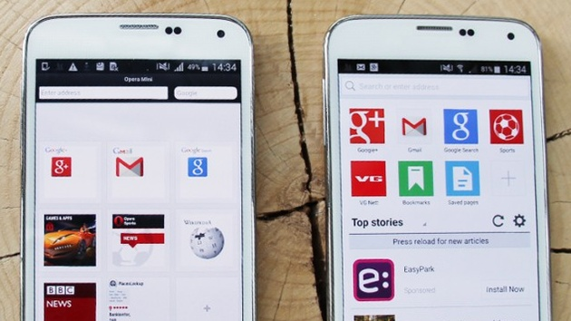 Android-Browser: Opera Mini 8 in neuem Design