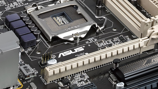 """Asus TUF Trooper B85: Mainboard mit """"ultimativer Kraft"""" trotz Einstiegs-Chipsatz"""