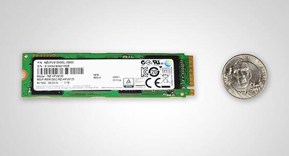 M.2-SSD Samsung SM951 mit NVMe