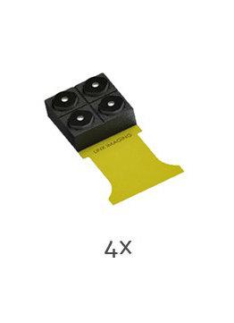 Linx Multi-Camera-Array mit vier Sensoren