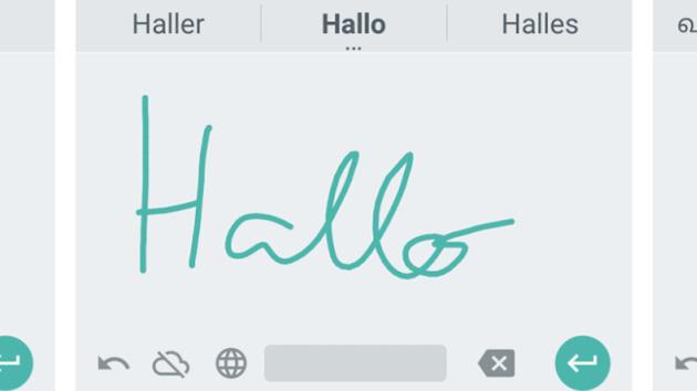 Google Handschrifteingabe: Handschrifterkennung für Android in 82 Sprachen