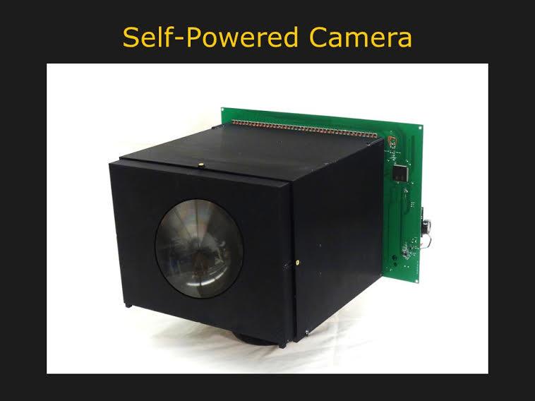Noch ist die Kamera ein Prototyp