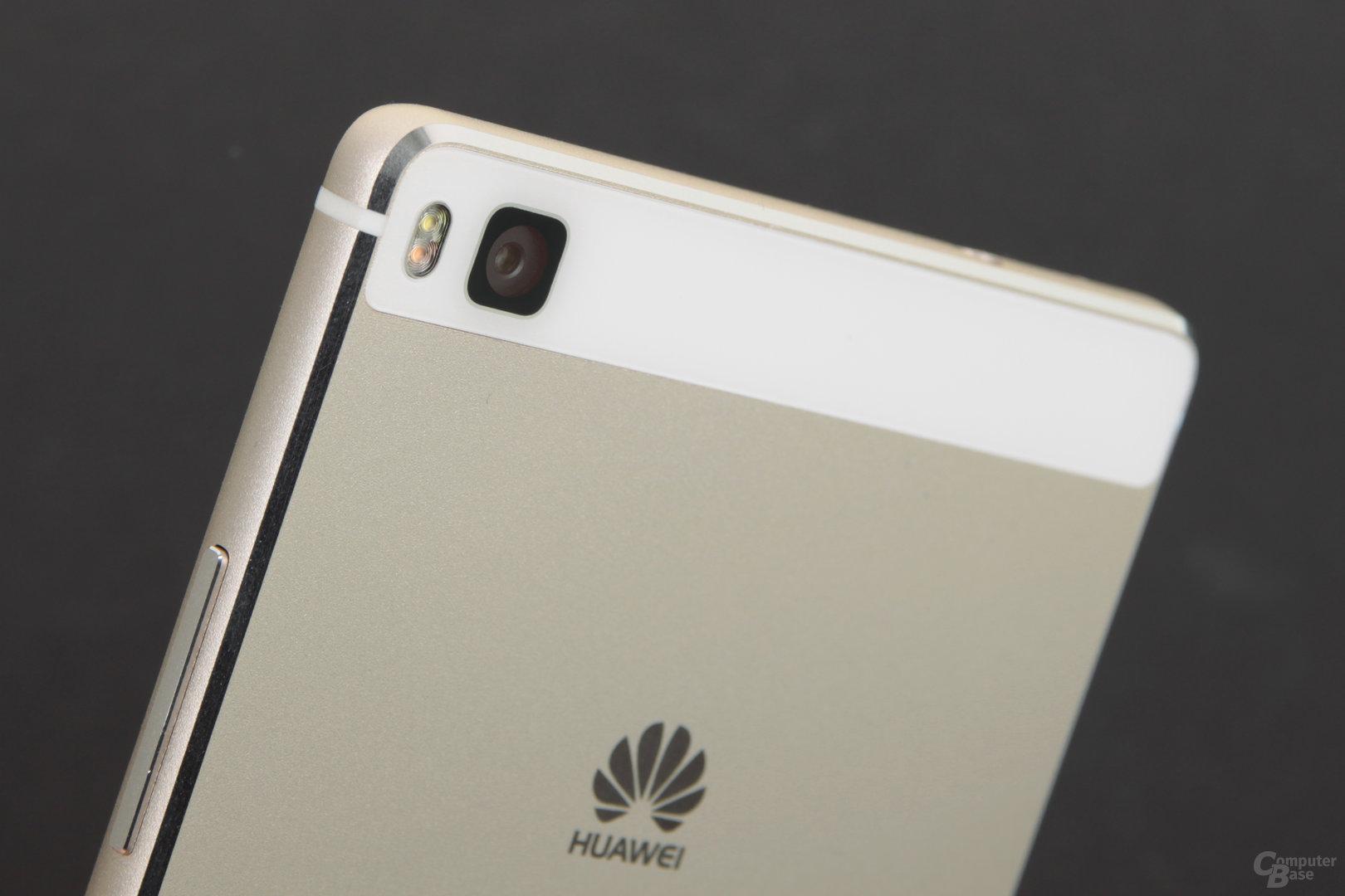 Kamera, Design und Display zeichnen das Huawei P8 aus