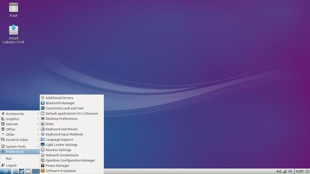 Lubuntu 15.04