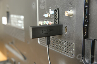 Amazon Fire TV Stick am Fernseher