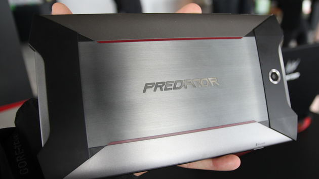 Predator: Acer plant Gaming-Tablet mit Force Feedback und Android