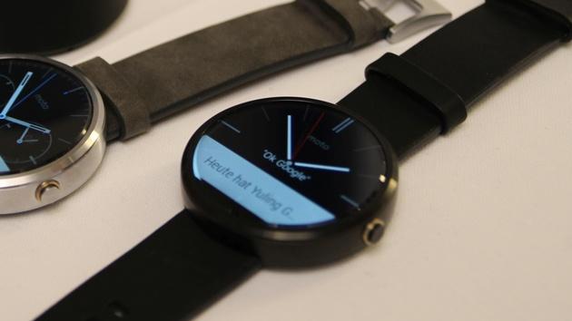 Motorola: Moto 360 erhält WLAN und wird günstiger