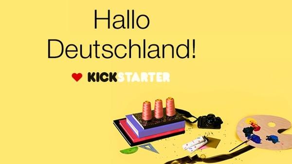 Kickstarter: Crowdfunding-Plattform startet ab Mai in Deutschland