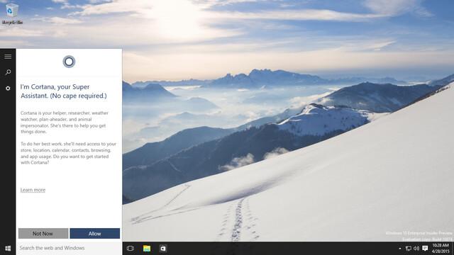 """Windows 10 Build 10074 wird als """"Insider Preview"""" bezeichnet"""