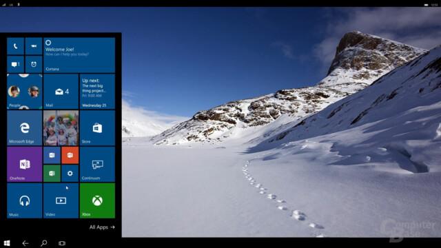 Continuum für Smartphones mit Windows 10