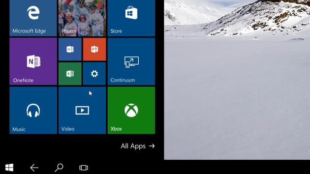 Continuum: Windows 10 für Smartphones wird zum Desktop-PC