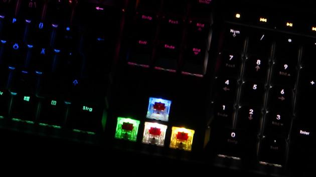 Corsair Vengeance RGB: Gesamte Farbpalette wird durch sichtbares Flackern erkauft