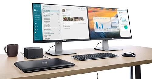 Dell Wireless Dock im Einsatz