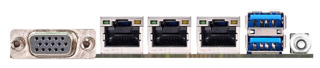 ASRock EPC612D4I – I/O-Panel der LGA2011-3-Platine für Micro-Server