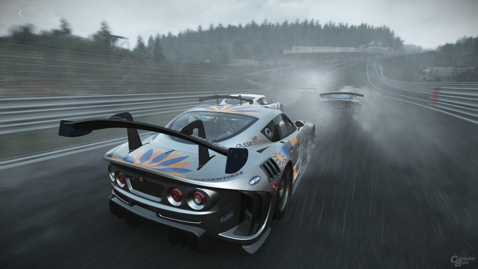 Project Cars im Regen